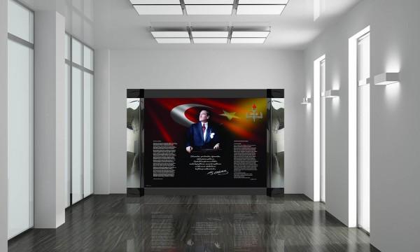 İç Mekan Atatürk Köşesi K-201