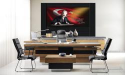 Atatürk Makam Panosu D-200-250x150x4 cm