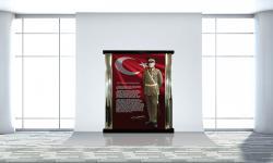 İç Mekan Atatürk Köşesi K-103-190x220x10cm