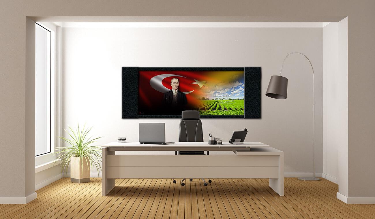 Kurumsal Tablolar  | Atatürk Resimli Tablo | Atatürk Makam Tablo TARIM4