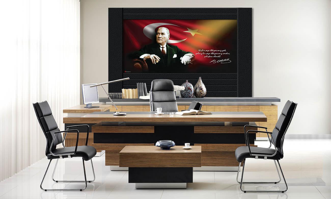 Atatürk Makam Panosu D-500-250x150x4cm