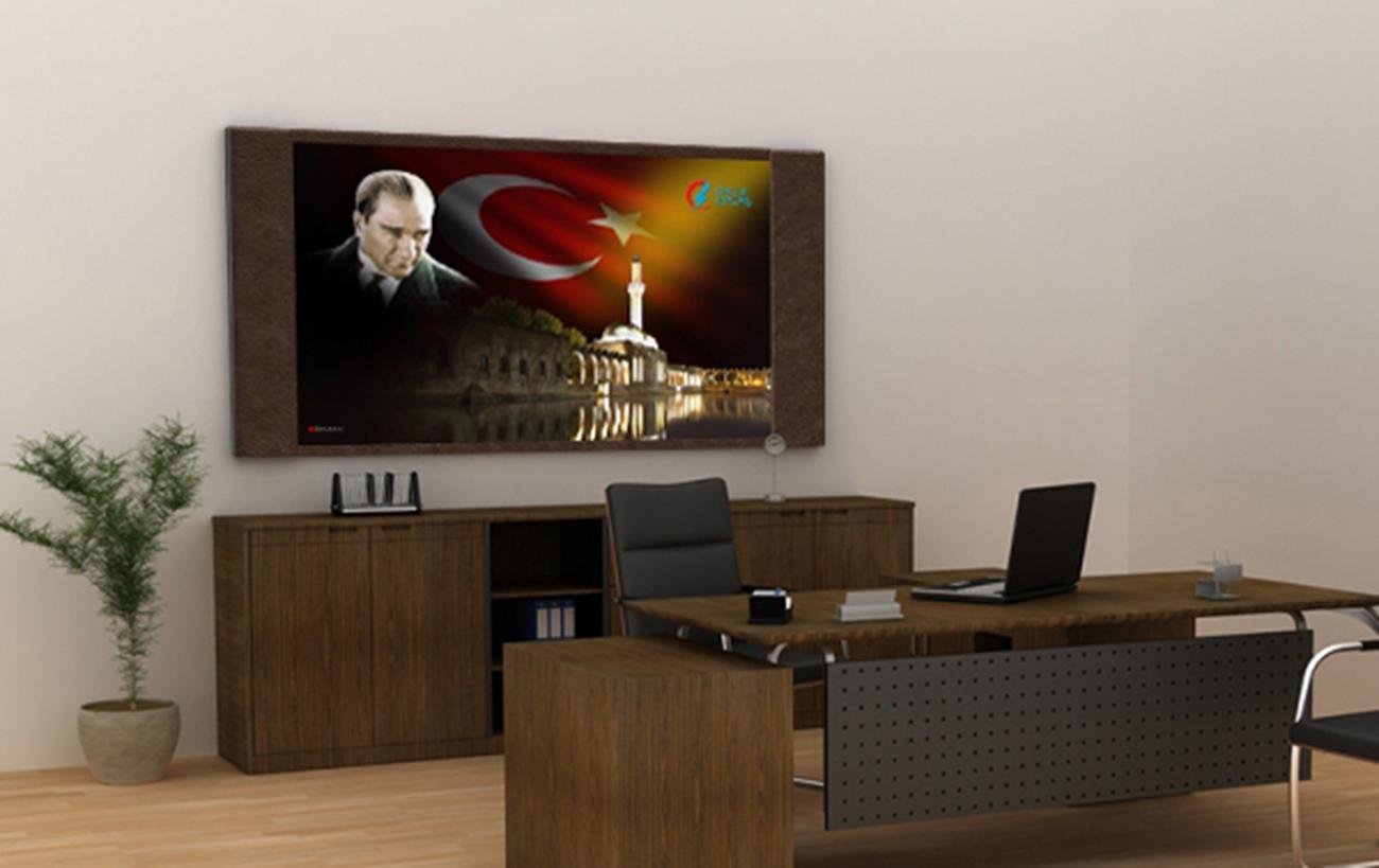 Kurumsal Tablolar  | Atatürk Resimli Tablo | Atatürk Makam Tablo kod-2