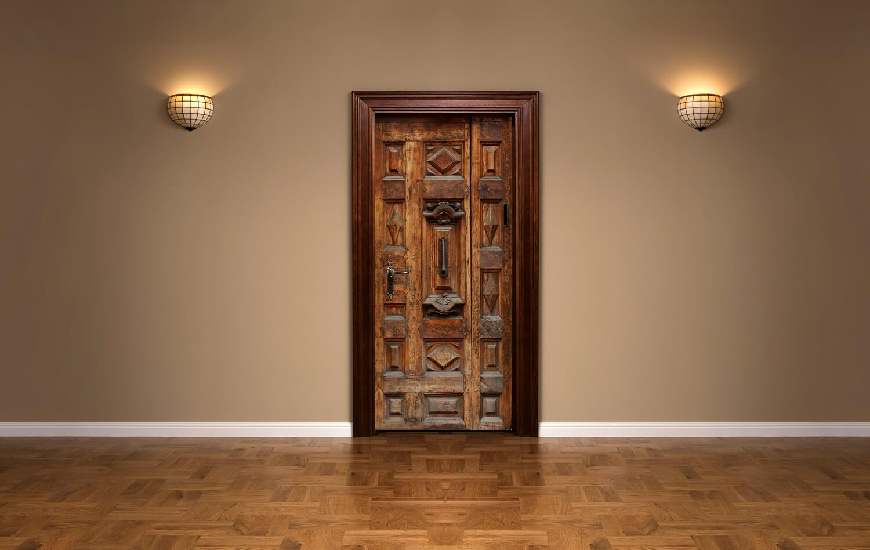 Masif Rustic Kapı Ve Dolap
