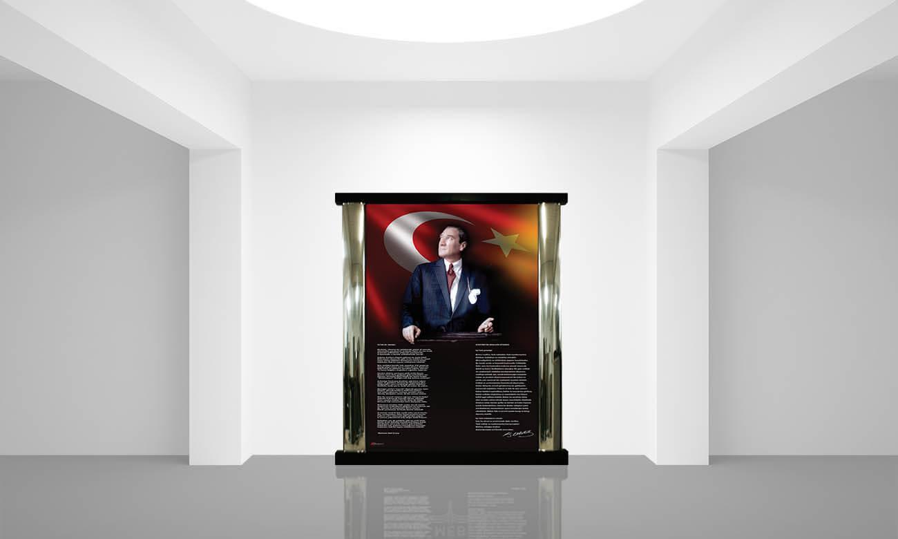 İç Mekan Atatürk Köşesi K-102-190x220x10cm