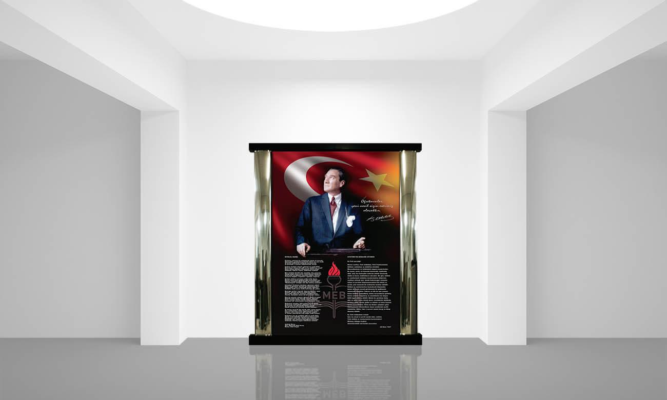 İç Mekan Atatürk Köşesi K-101-190x220x10cm